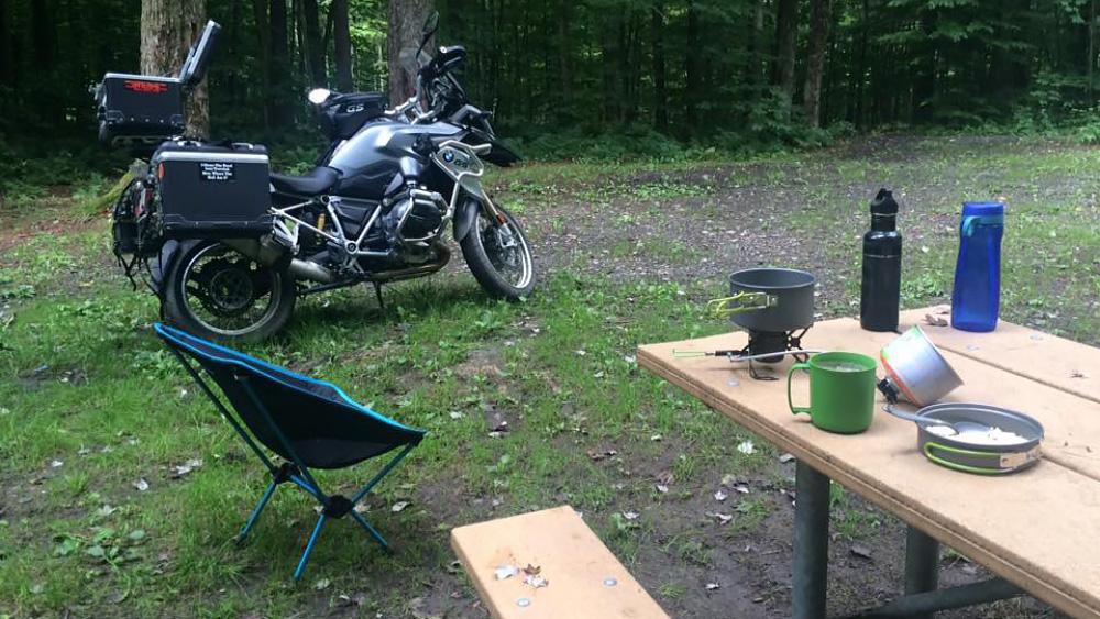 Photo 2 of Camp Kitchen Setup: Tim Collins