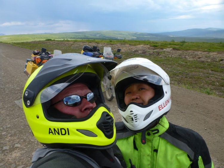 Photo 1 of Alaska to South America: Two Moto Kiwis