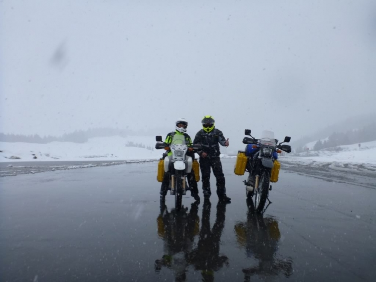 Photo 4 of Alaska to South America: Two Moto Kiwis