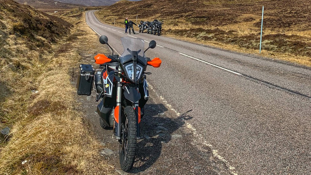 Photo 4 of 2019 KTM 790 R Review: Al Pendrey