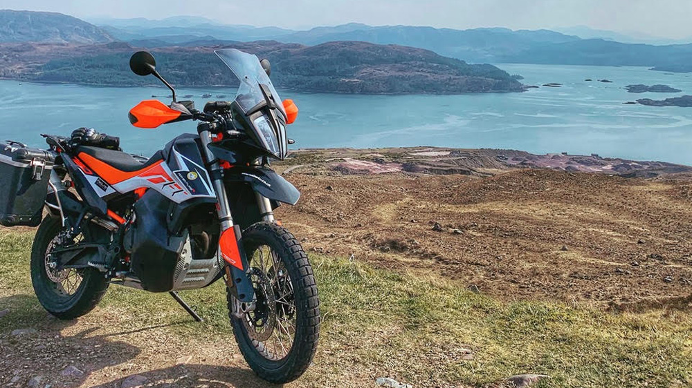 Photo 2 of 2019 KTM 790 R Review: Al Pendrey