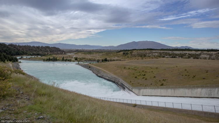 Photo 1 of Lake Pukaki Spillway