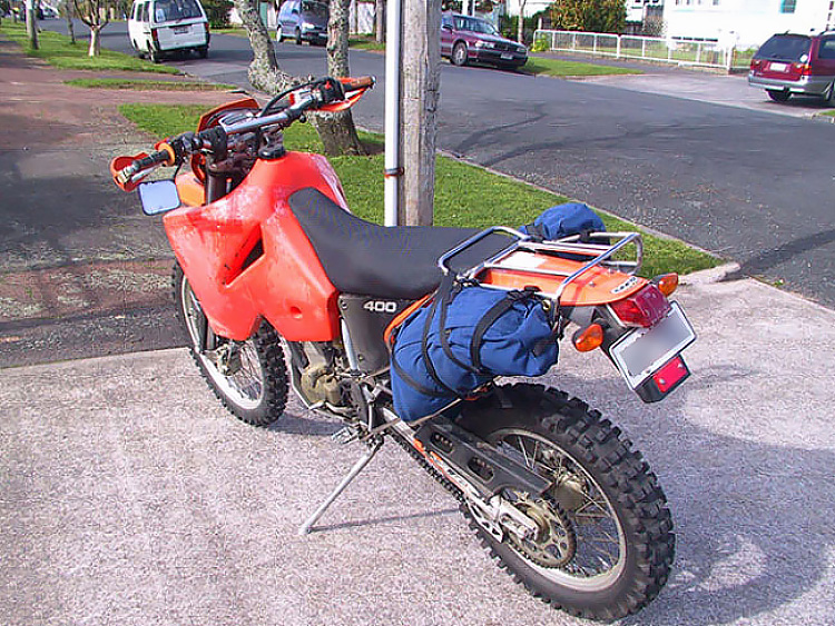Photo 2 of Soft luggage racks for adventure bikes