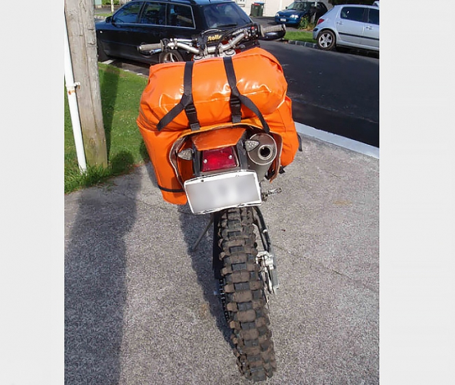 Photo 7 of Soft luggage racks for adventure bikes