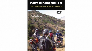 Dirt Riding Skills for Dual Sport and Adventure Riders DVD