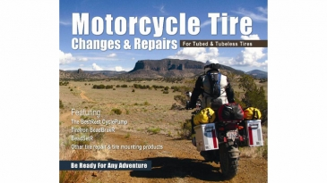 BestRest's Motorcycle Tire Changes and Repairs DVD
